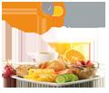 Hier finden Sie Frühstücksbuffet- Brunch-Buffet � per APP und Web