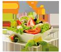 Vegetarisch, Bio, diätisch oder vegan? Hier finden Sie ein Restaurant !