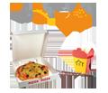 Lieferservice und Bringservice für Pizza, Sushi und anderes Essen, Partyservice & Catering