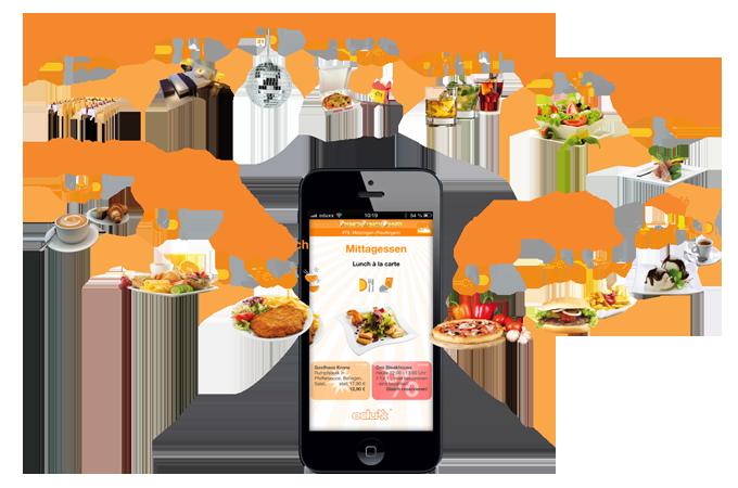 Brunch-Lunch-Dinner - alles was die Gastronomie bietet in einer APP - für iPhone und Android