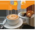 Hier bekommen Sie Frühstück (Breakfast), Vesper, Pausen-Snack oder Imbiss am Morgen!