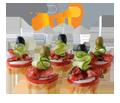 Catering und Partyservice, Fingerfood für Feste und Feiern aller Art, Banquett, Empfang, Events,